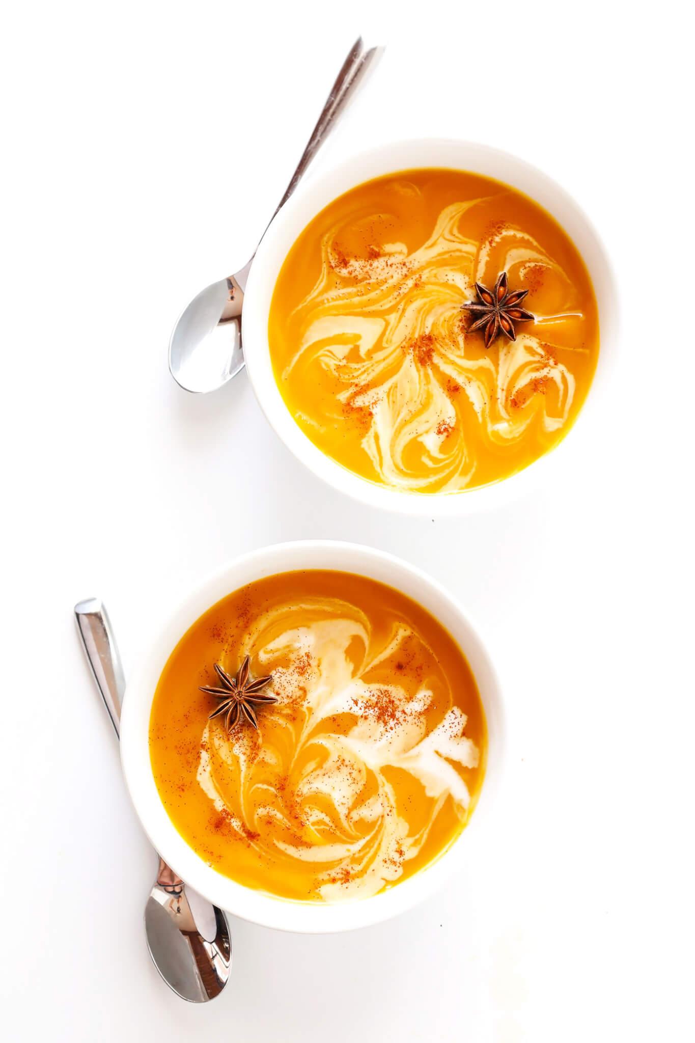Chai Butternut Squash Soup