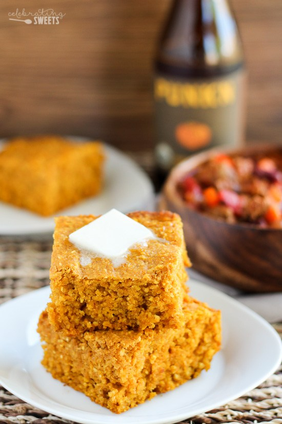 Honey Pumpkin Cornbread