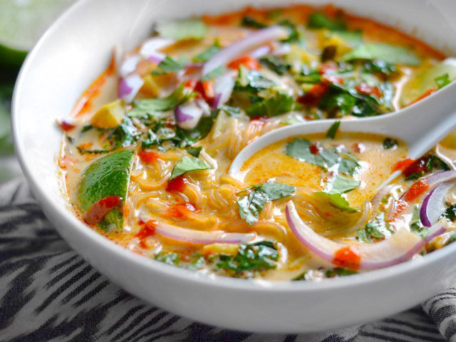 Thai Curry Veggie Soup